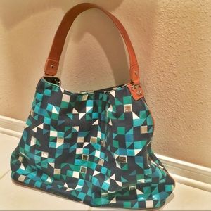 Tory Burch *rare* Structured Hobo Tote